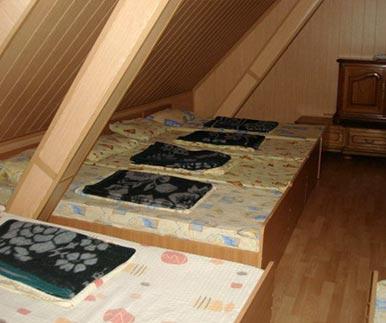 Mixed dorm bedroom